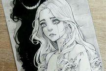 Art ☆ Pensil drawings