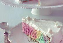 Torta arcobaleno ecc...