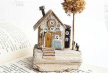 Diy - wood houses