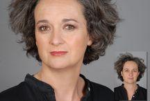 Maquillages avant/après / Réalisés par Emmanuelle STAEDELIN