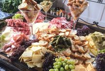 party platters, tapas, cheese boards