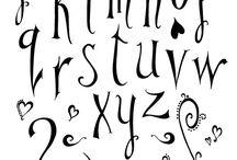 Letras / Letras y Caligrafía