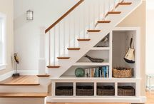 Under staircase ideas