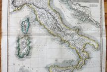 Antique Maps & Prints of Italy/Sicily