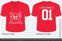 Chi Omega T-Shirts That Rock / by Greek T-Shirts That Rock