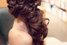 Hair styles for Weddings and special occasions