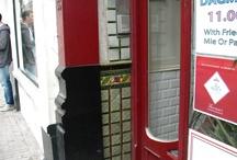 Outdoor Dutch tiles