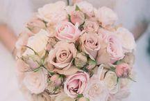 Pink and grey for spring Edinburgh wedding