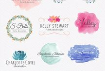 {Inspirations} - Water color logo & Design