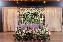 Elegant lush foliage wedding by Decokit Studio/ Элегантная свадьба с пышной зеленью от Декокит