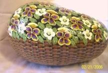 sassi fiori