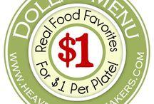 Frugal Living- Meals