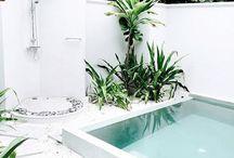 ducha - área de lazer