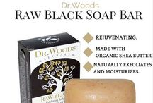 Black Soap / Everything you need to know about Black Soap and Dr. Woods Black Soap with Organic Shea Butter.