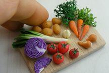 Verdura in miniatura orti