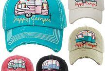 Happy Camper Baseball Hat