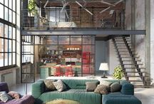 Loft living spaces