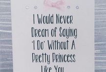 be bridesmaid/flower girl