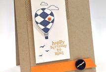 Stampin Up Air Balloons