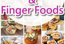 finger foods % dips