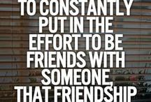 Friends and love quotes