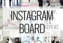 [INSTAGRAM BOARD] / Be our InstaBuddy and check our bio @theonlineyogastudio