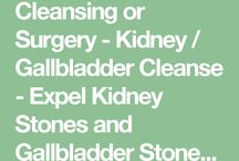 Gall bladder stones cleansing