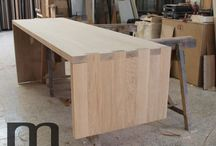 Reception Desk / Reception desk work in progress by Mazzocca Wood Design Lab