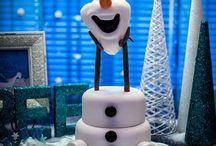 Aniversário Frozen