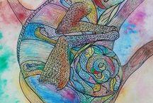 Ilustração e Pintura / Painting and Illustration