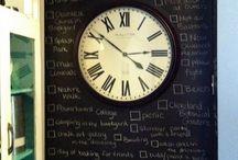 Blackboard wall ideas