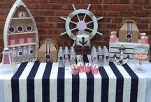 Nautical Little Girl Birthday Party