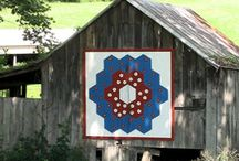 Barn Quilts / barn quilt love. decorate the barn