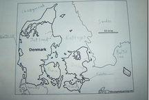 world geography-scandanavia / by Jennifer Wampler