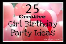 Girls Birthday / Birthday / by Andrea Hatch
