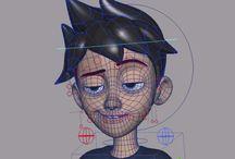 Animation modeling
