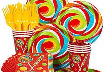 Candyland Theme Party / How sweet it is to have a board with all the best party decoration ideas and more for a Candyland theme party