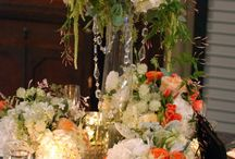 May Coral Elegant wedding / Traditional wedding florals with coral infused throughout.