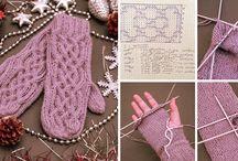вязание - варежки, шапки, снуды, шарфы