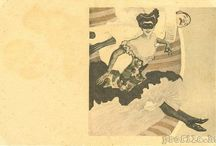 vintage artistic postcards / Old postcards from the beginning of the last century