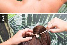 Günlük Saç Modelleri / En tembellerin bile kolayca uygulayabilecekleri günlük saç modelleri ve yapılışları!
