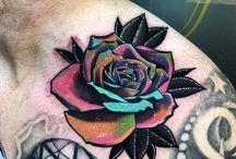 rózsa tattoo