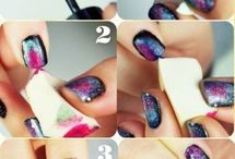 nail polish Ideas and tips  / This folder is full of different ways to make your hands just absolutly beautiful and give you the best manicure ever. it gives you ideas for cuticle care, colors and different nail art.