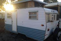 Retro Caravan / Travel and craft project.
