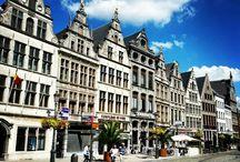 Flanders (Fiandre) / the most beautiful places of Flanders: Bruges, Gent, Antwerp (Belgium)