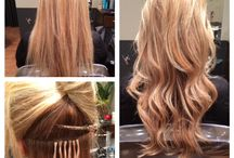 """Hair Extensions! / Beautiful Perfectress hair extensions last approximately eight months and are reusable. Every eight weeks the extensions can be """"pushed up"""" the hair strand and will look and feel brand new!"""