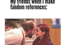 Fandoms ;)