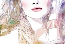 ღThe Woman İllusrationsღ OFFİCİAL PAGE: http://www.pinterest.com/tangulcakmak/