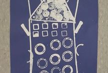 Printmaking / by Mary Simmons Deaf Art