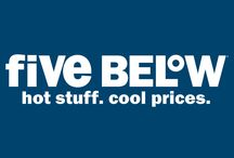 5 Below!! 💙💲 / Five Below is an AMAZING store!! Everything is $5 and below! 😄👍🏼💙💲 / by Becca Juarez